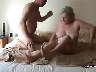 hidden camera:  my granny fucks like never before