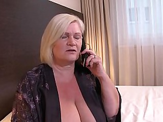 UK Granny Lacey Starr Gets r. on her Husband